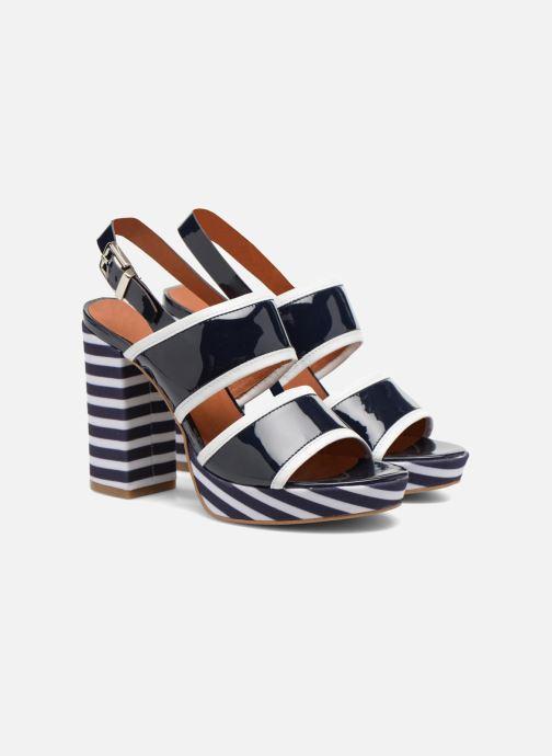 Sandalen Made by SARENZA Menthe Hello #17 Blauw achterkant