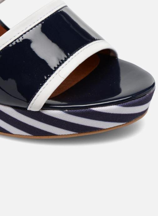 Sandalen Made by SARENZA Menthe Hello #17 Blauw links