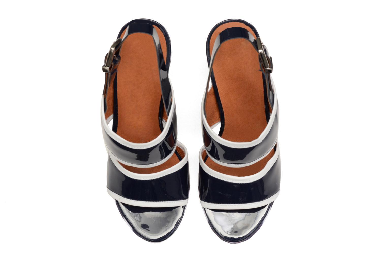 Sandali e scarpe aperte Made by SARENZA Menthe Hello #17 Azzurro modello indossato