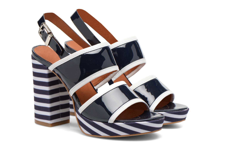 Sandali e scarpe aperte Made by SARENZA Menthe Hello #17 Azzurro immagine posteriore
