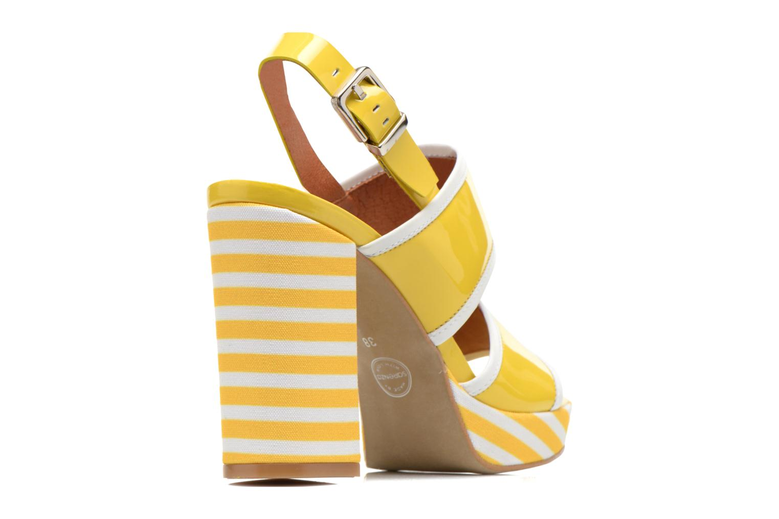 Sandalias Made by SARENZA Menthe Hello #17 Amarillo vista de frente