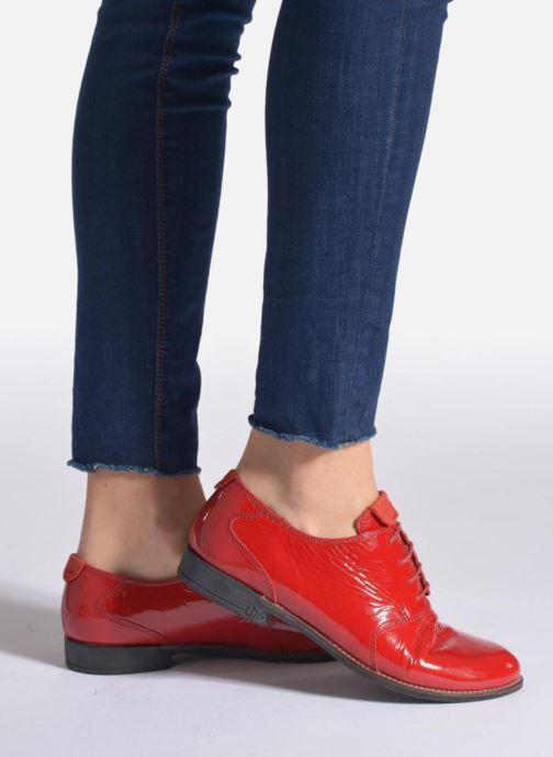 Zapatos con cordones TBS Merloz Negro vista de abajo