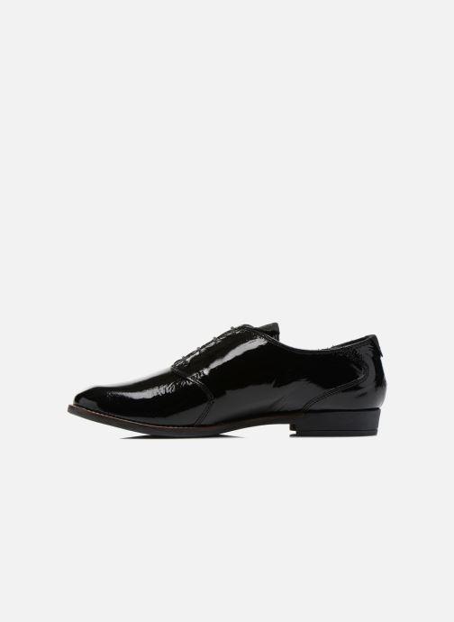 Zapatos con cordones TBS Merloz Negro vista de frente