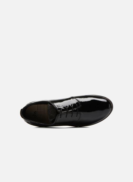 Zapatos con cordones TBS Merloz Negro vista lateral izquierda