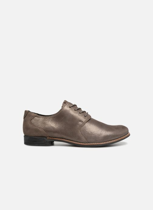 Lace-up shoes TBS Merloz Grey back view