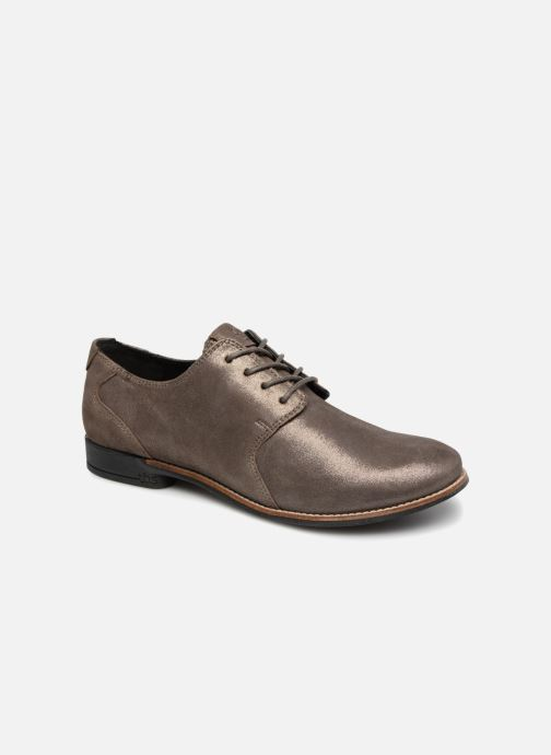 Lace-up shoes TBS Merloz Grey detailed view/ Pair view