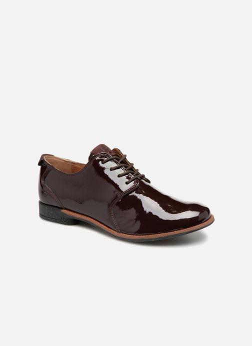 Zapatos con cordones TBS Merloz Marrón vista de detalle / par