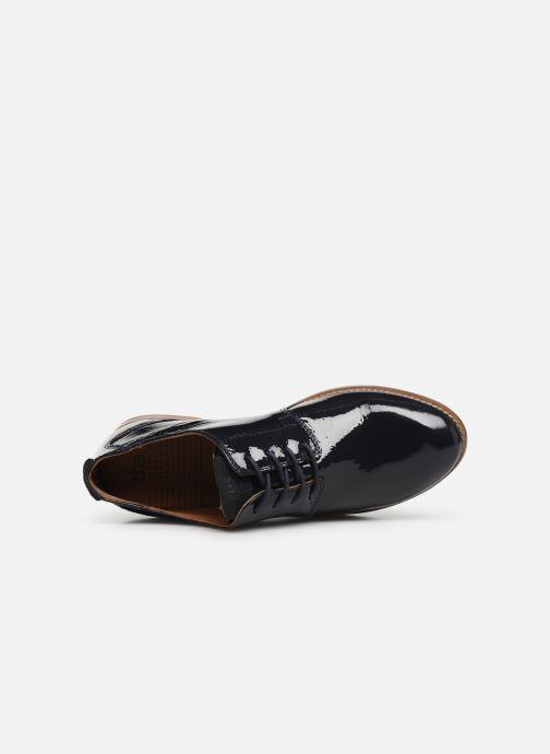 Zapatos con cordones TBS Merloz Azul vista lateral izquierda