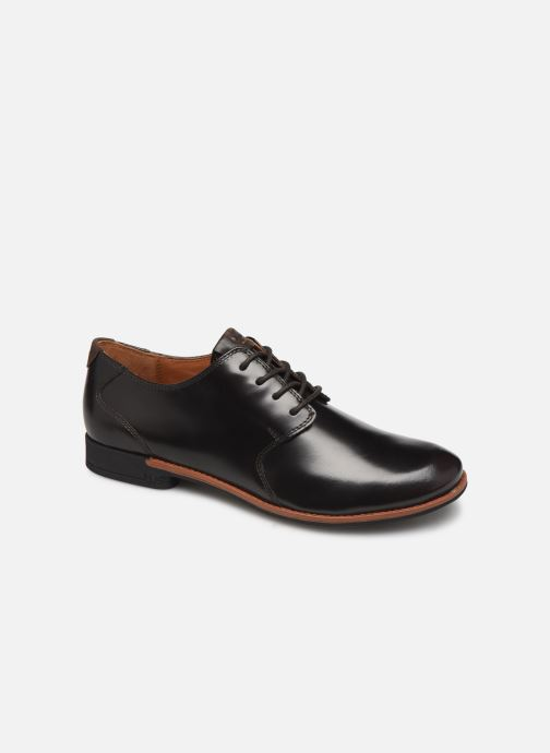 Lace-up shoes TBS Merloz Brown detailed view/ Pair view