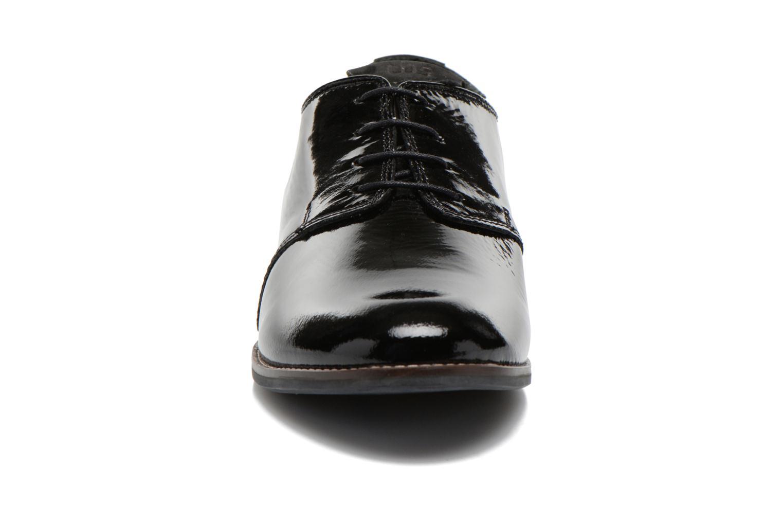 Chaussures à lacets TBS Merloz Noir vue portées chaussures