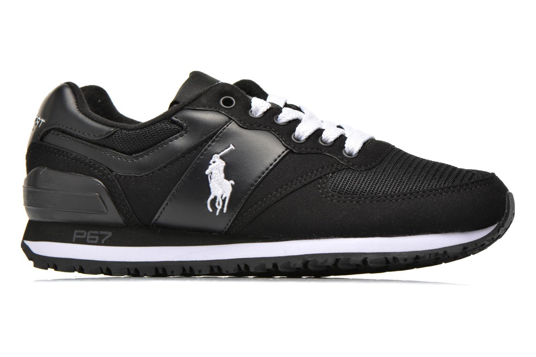 Sneakers Polo Ralph Lauren Slaton Pony Zwart achterkant