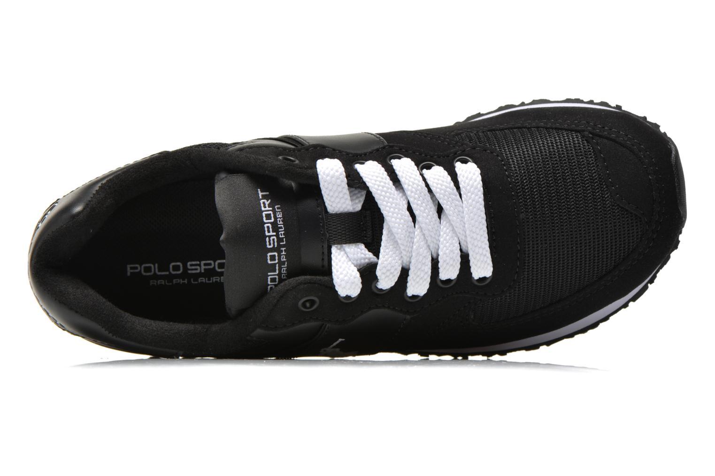 Sneaker Polo Ralph Lauren Slaton Pony schwarz ansicht von links