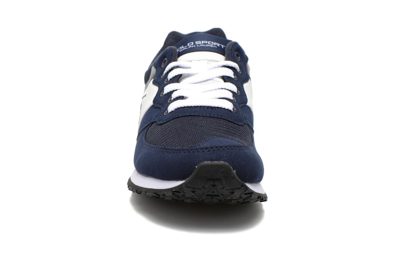 Sneaker Polo Ralph Lauren Slaton Pony blau schuhe getragen