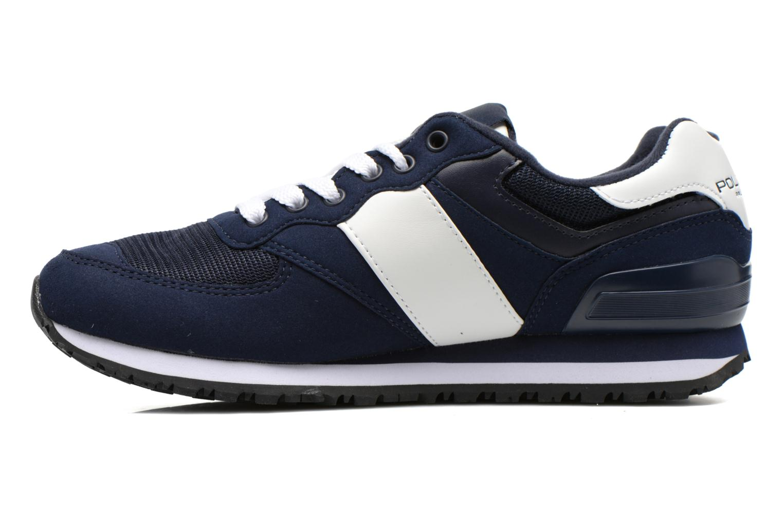 Sneaker Polo Ralph Lauren Slaton Pony blau ansicht von vorne