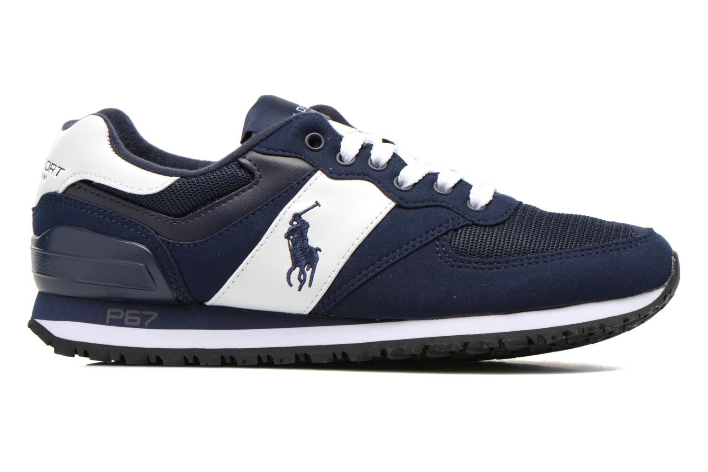 Sneaker Polo Ralph Lauren Slaton Pony blau ansicht von hinten