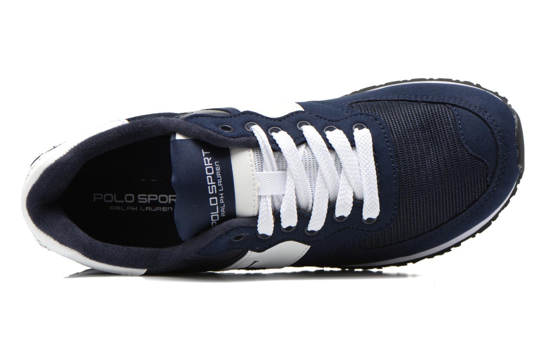 Sneaker Polo Ralph Lauren Slaton Pony blau ansicht von links
