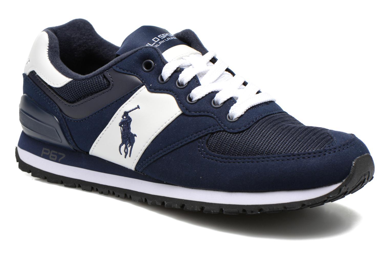 Sneaker Polo Ralph Lauren Slaton Pony blau detaillierte ansicht/modell