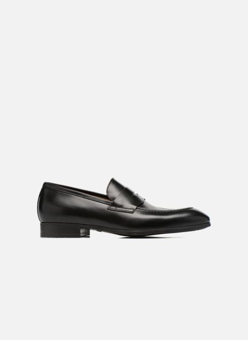 Loafers Santoni Simon 14944 Black back view