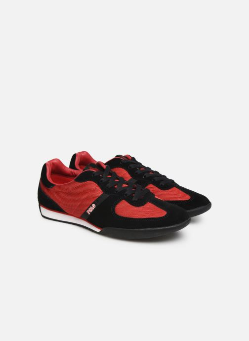 Trainers Polo Ralph Lauren Jacory Red 3/4 view