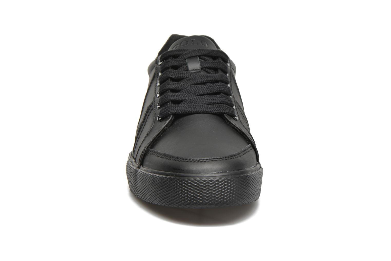 Baskets Polo Ralph Lauren Hugh Noir vue portées chaussures