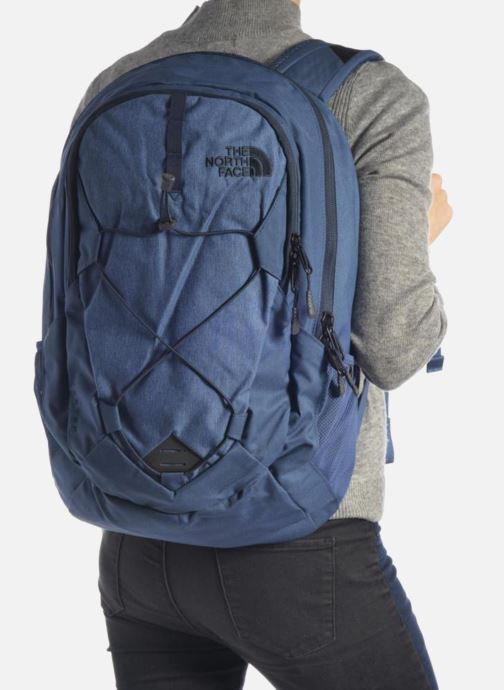 Rucksacks The North Face Jester Black view from underneath / model view