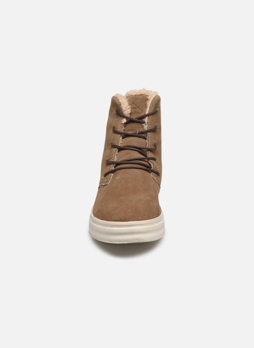 Sneakers Roadsign Figuier Beige modello indossato