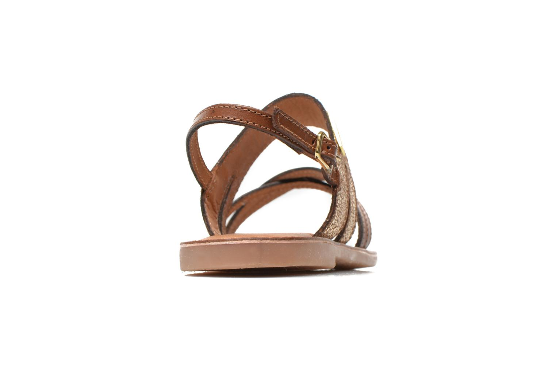 Sandali e scarpe aperte Les Tropéziennes par M Belarbi Becot Marrone immagine destra