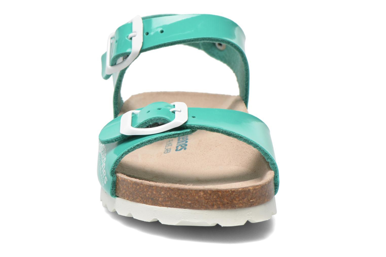 Sandales et nu-pieds Les Tropéziennes par M Belarbi Prune Vert vue portées chaussures