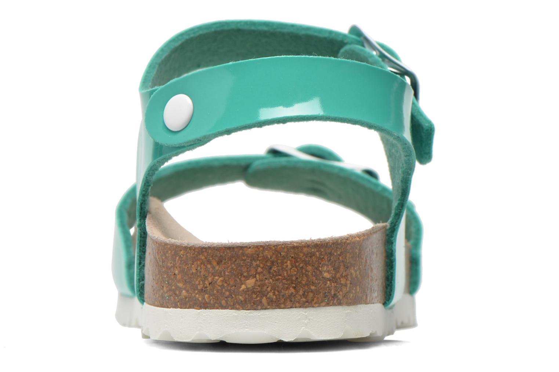 Sandales et nu-pieds Les Tropéziennes par M Belarbi Prune Vert vue droite