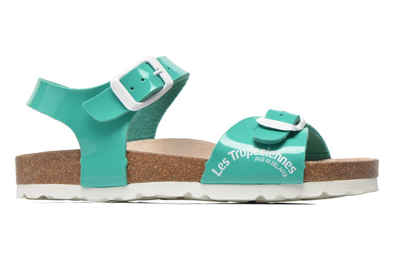 Sandales et nu-pieds Les Tropéziennes par M Belarbi Prune Vert vue derrière