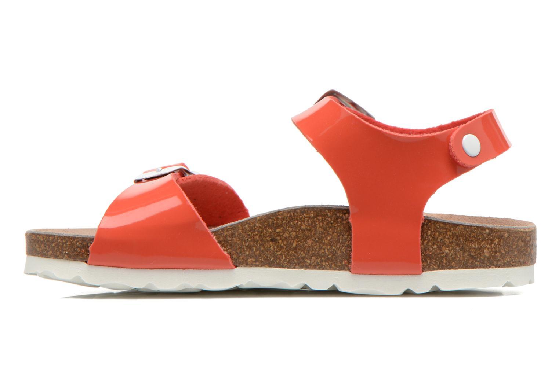 Sandales et nu-pieds Les Tropéziennes par M Belarbi Prune Rose vue face