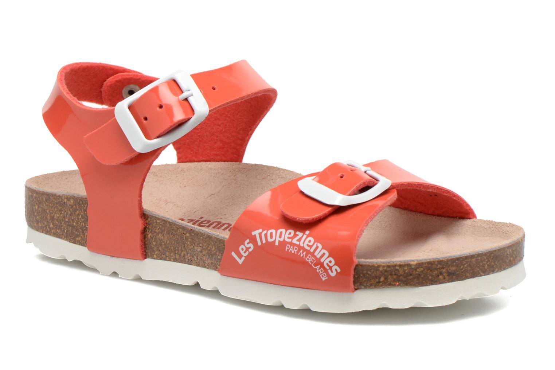 Sandales et nu-pieds Les Tropéziennes par M Belarbi Prune Rose vue détail/paire