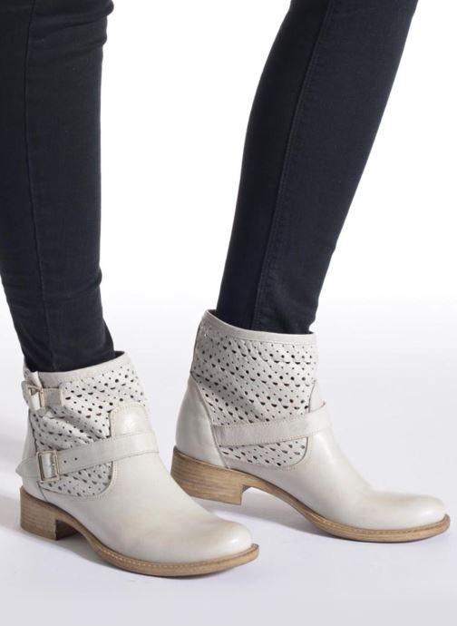 Stiefeletten & Boots Sweet Lemon L.5 Ebolo rosa ansicht von unten / tasche getragen