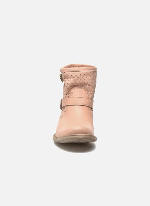 Ankle boots Sweet Lemon L.5 Ebolo Pink model view