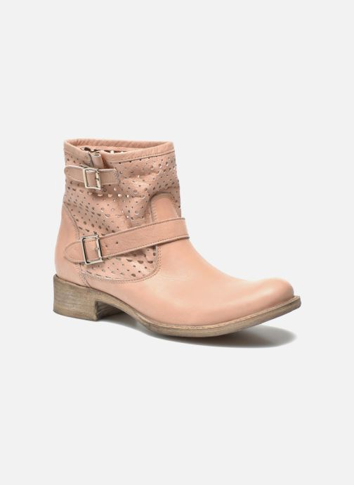 Ankle boots Sweet Lemon L.5 Ebolo Pink detailed view/ Pair view