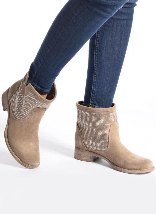 Stiefeletten & Boots Sweet Lemon L.5.Ekoli grau ansicht von unten / tasche getragen