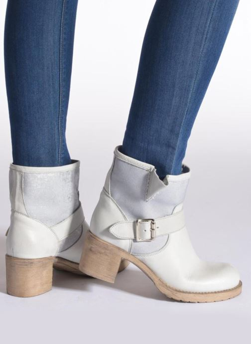 Bottines et boots Sweet Lemon L.5 Ejode Gris vue bas / vue portée sac