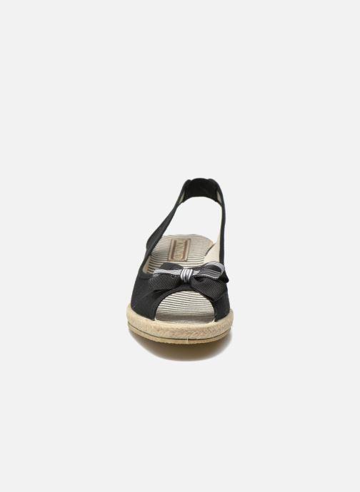 Sandales et nu-pieds Rondinaud Briance Noir vue portées chaussures