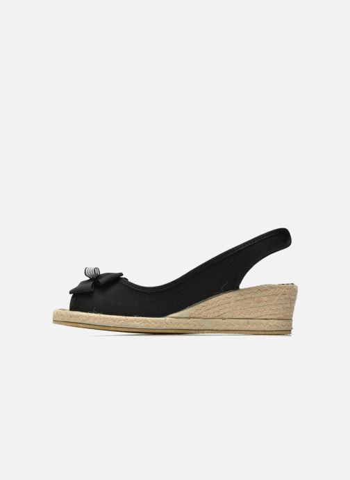 Sandales et nu-pieds Rondinaud Briance Noir vue face