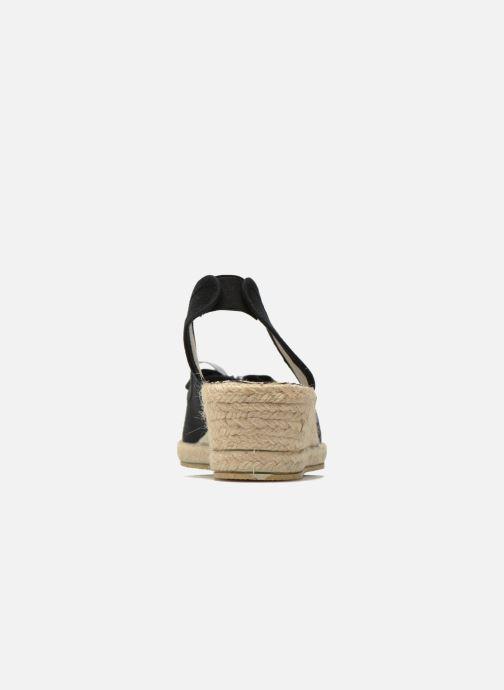 Sandales et nu-pieds Rondinaud Briance Noir vue droite