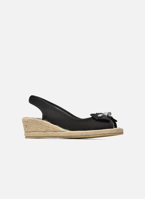 Sandales et nu-pieds Rondinaud Briance Noir vue derrière
