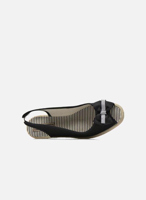 Sandales et nu-pieds Rondinaud Briance Noir vue gauche