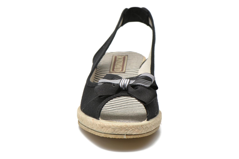 Sandalen Rondinaud Briance schwarz schuhe getragen