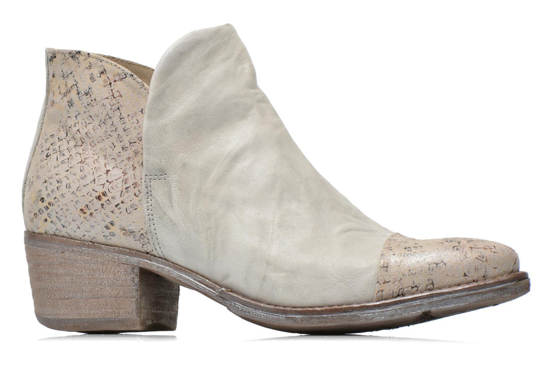Boots en enkellaarsjes Khrio Cucuta Beige achterkant