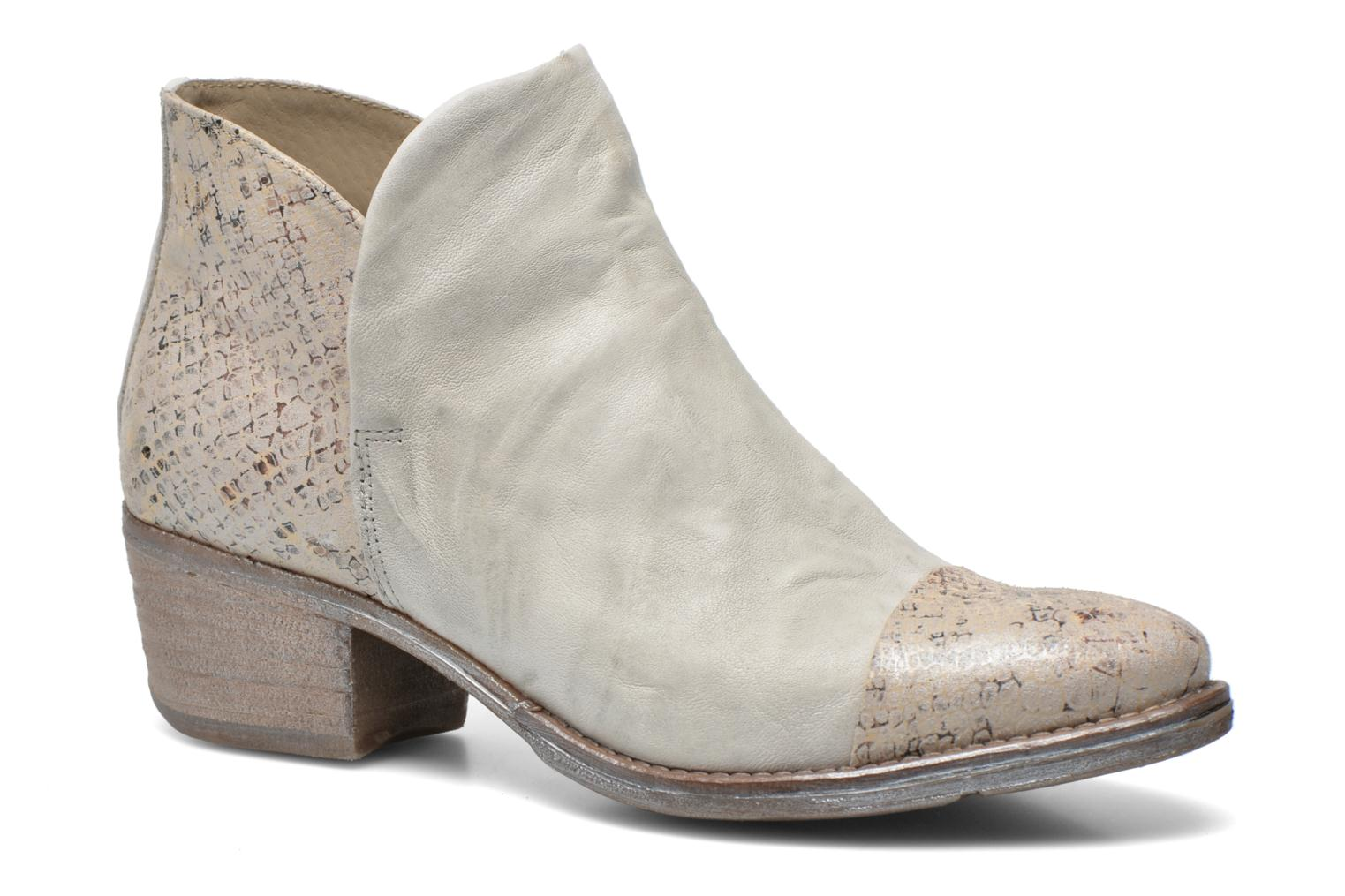 Ankle boots Khrio Cucuta Beige detailed view/ Pair view