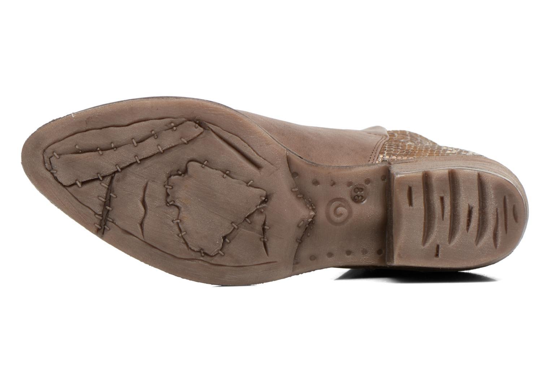Bottines et boots Khrio Cucuta Or et bronze vue haut