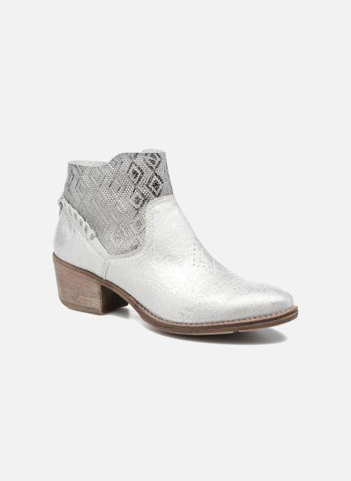 bb24c2956d1 Ankelstøvler Khrio Pasto Beige detaljeret billede af skoene