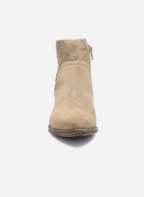 Stiefeletten & Boots Khrio Florencia beige schuhe getragen