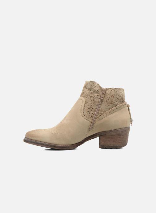 Bottines et boots Khrio Florencia Beige vue face