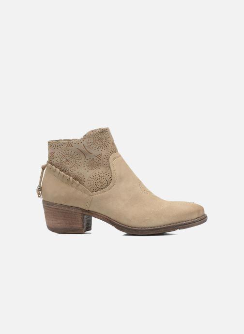 Bottines et boots Khrio Florencia Beige vue derrière
